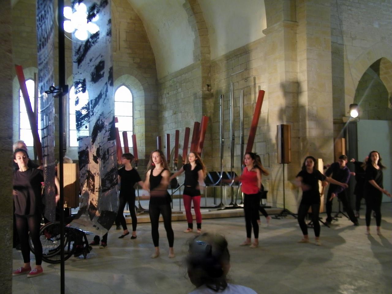 Spectacle à l'Abbaye de Noirlac