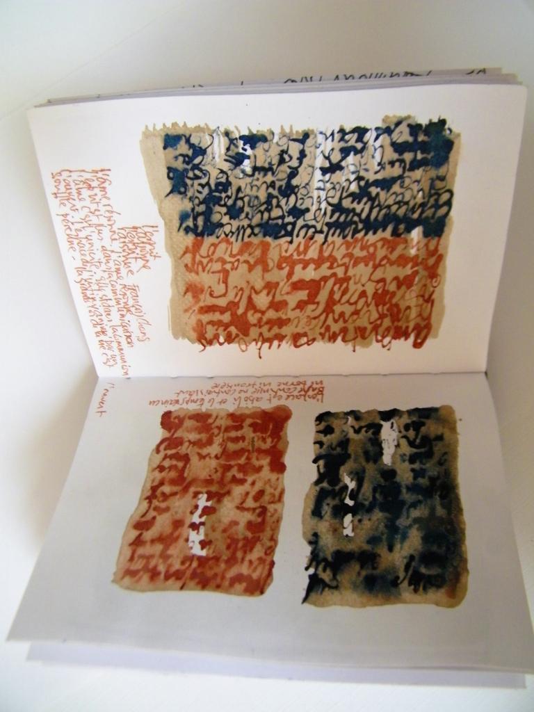 Carnets et livres d'artiste